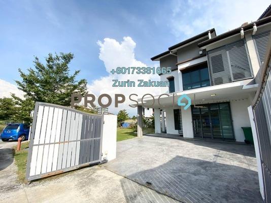 Terrace For Sale in Nahara, Bandar Bukit Raja Freehold Unfurnished 4R/4B 1.25m