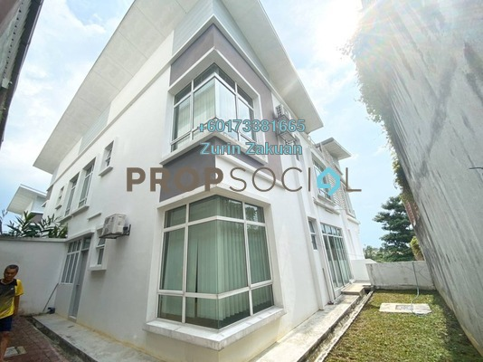 Semi-Detached For Sale in Sentosa Heights, Kajang Freehold Semi Furnished 6R/7B 1.25m