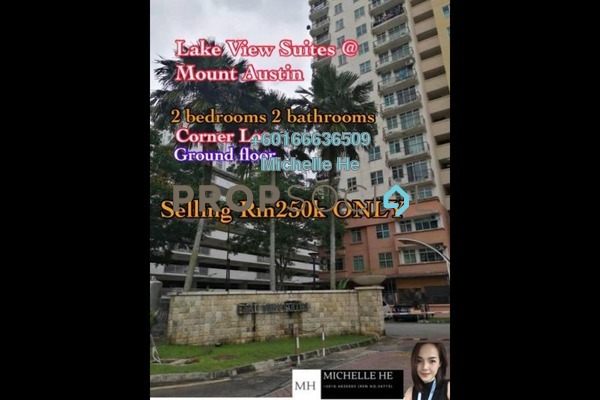 Apartment For Sale in Lake View Suites, Tebrau Freehold Unfurnished 2R/2B 250k