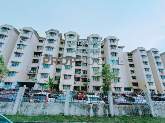 Apartment For Sale in Suria Subang Apartment, Shah Alam Freehold Unfurnished 3R/2B 245k