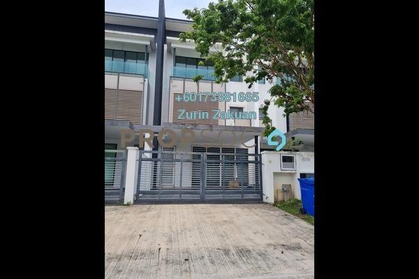 Terrace For Sale in Bandar Nusa Rhu, Shah Alam Freehold Unfurnished 4R/3B 745k