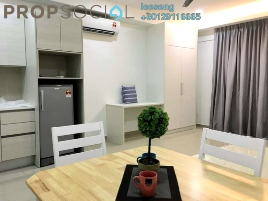 SoHo/Studio For Rent in i-City, Shah Alam Freehold Fully Furnished 1R/1B 1.1k