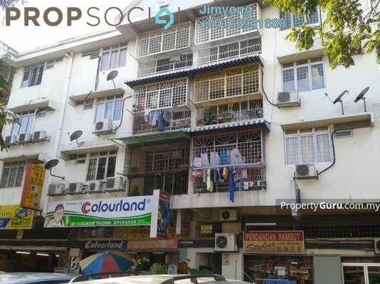 Apartment For Sale in Taman Pusat Kepong, Kepong Freehold Semi Furnished 3R/2B 168k