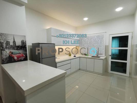 Terrace For Sale in Setia Indah, Setia Alam Freehold Semi Furnished 4R/4B 780k