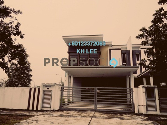 Terrace For Rent in Cahaya SPK, Shah Alam Freehold Unfurnished 1R/1B 450translationmissing:en.pricing.unit