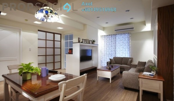 Condominium For Sale in Taman Mastiara, Jalan Ipoh Freehold Semi Furnished 3R/2B 600k