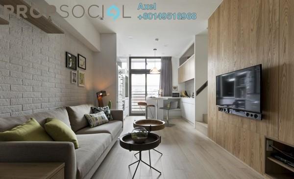 Condominium For Sale in Taman City, Jalan Kuching Freehold Semi Furnished 4R/3B 619k