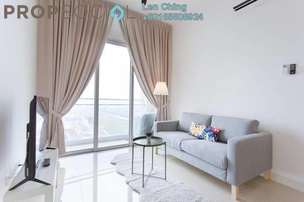 Condominium For Rent in Desa Green Serviced Apartment, Taman Desa Freehold Semi Furnished 1R/1B 1.35k