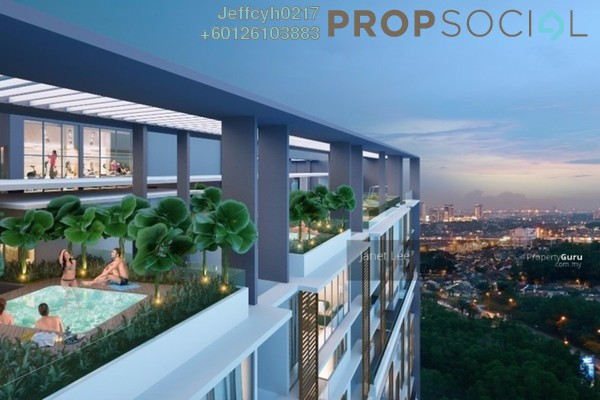 Condominium For Sale in Bennington Residences, Setapak Freehold Semi Furnished 4R/2B 723k