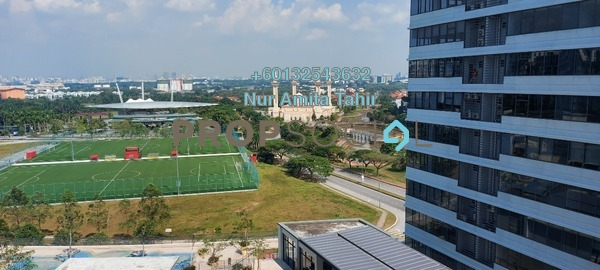 Serviced Residence For Rent in Radia Residences, Bukit Jelutong Freehold Semi Furnished 2R/2B 1.7k
