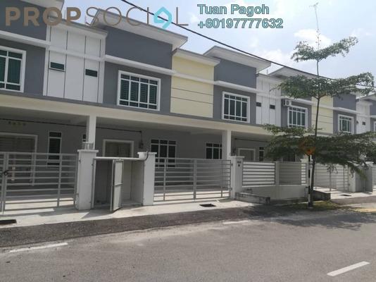 Terrace For Rent in Harmoni Vista, Bandar Universiti Pagoh Freehold Semi Furnished 4R/4B 1.4k