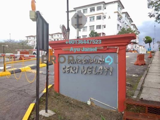 Apartment For Sale in Seri Melati Apartment, Bandar Seri Putra Freehold Unfurnished 3R/2B 260k