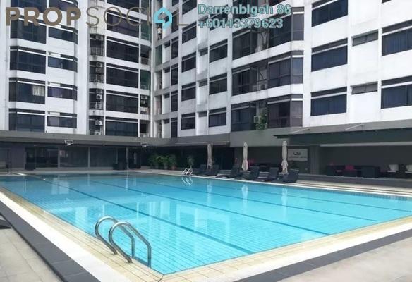 Condominium For Rent in Fahrenheit 88, Bukit Bintang Freehold Semi Furnished 2R/2B 4.5k