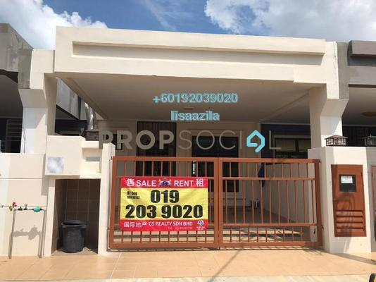 Terrace For Rent in Nada Alam, Nilai Freehold Unfurnished 4R/2B 1k