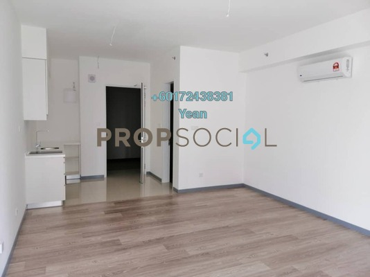 Apartment For Rent in South Link Lifestyle Apartments, Bangsar South Freehold Semi Furnished 1R/1B 1.35k