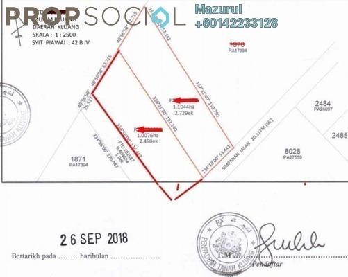 Land For Sale in Taman Mengkibol, Kluang Freehold Unfurnished 0R/1B 3.39m