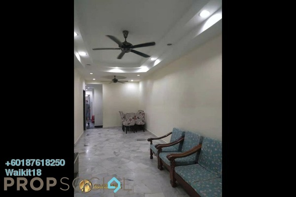 Terrace For Rent in Taman Damai Jaya, Skudai Freehold Semi Furnished 4R/2B 1.1k
