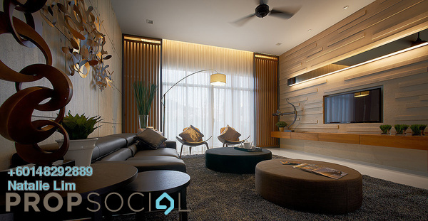 Condominium For Sale in Vista Sentul, Sentul Freehold Semi Furnished 3R/2B 460k