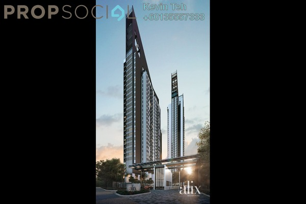 Condominium For Sale in Alix Residences, Kuala Lumpur Freehold Semi Furnished 4R/4B 1.26m