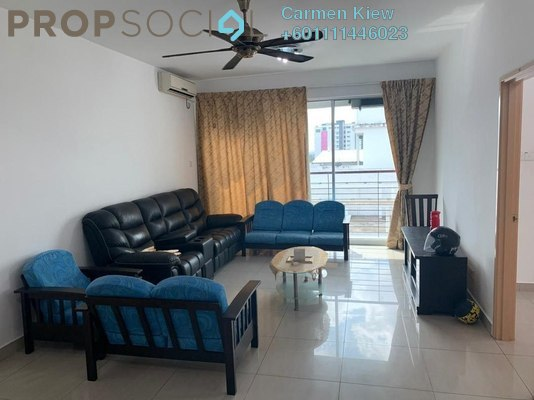 Apartment For Rent in SuriaMas Suites, Johor Bahru Freehold Semi Furnished 3R/2B 1k