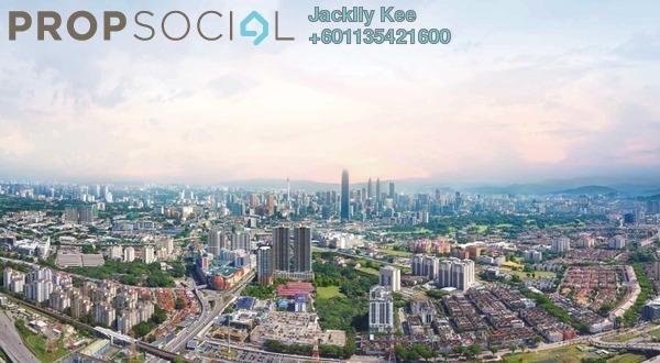 Condominium For Sale in V Residence 2 @ Sunway Velocity, Cheras Leasehold Semi Furnished 3R/2B 714k