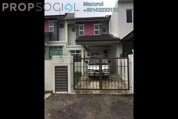 Terrace For Sale in Taman Nusantara Prima, Gelang Patah Freehold Unfurnished 3R/3B 350k