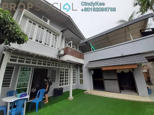 Bungalow For Sale in Sea Park, Petaling Jaya Freehold Semi Furnished 6R/4B 2m
