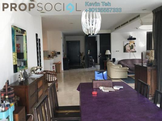 Condominium For Sale in 11 Mont Kiara, Mont Kiara Freehold Semi Furnished 4R/5B 3.3m