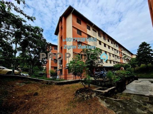 Apartment For Sale in Taman Melati, Setapak Freehold Unfurnished 2R/1B 210k