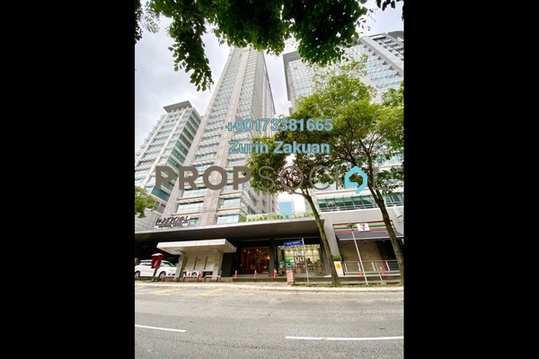 Condominium For Sale in One Residency, Bukit Ceylon Freehold Semi Furnished 1R/1B 550k