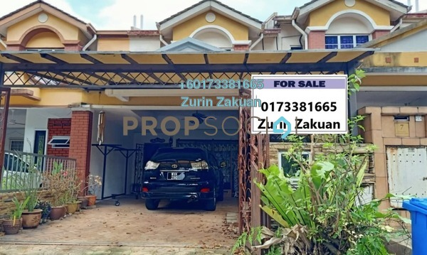 Terrace For Sale in Subang Sejahtera, Shah Alam Freehold Semi Furnished 4R/3B 600k