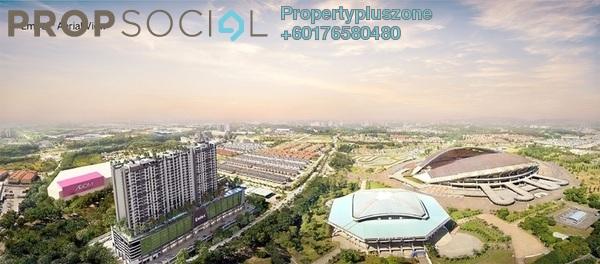 Condominium For Rent in Emira, Shah Alam Freehold Semi Furnished 2R/2B 1.7k