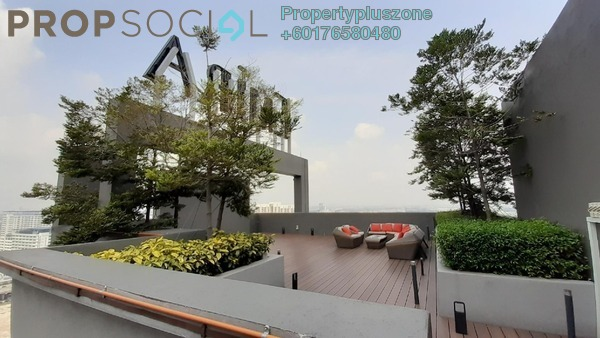Condominium For Rent in Temasya Kasih, Temasya Glenmarie Freehold Semi Furnished 2R/2B 1.7k