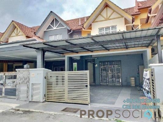Terrace For Sale in Taman Puncak Saujana, Kajang Freehold Semi Furnished 3R/3B 500k