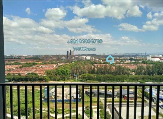 Condominium For Rent in Gravit8, Klang Freehold Semi Furnished 3R/2B 1.6k