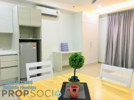 Condominium For Rent in i-City, Shah Alam Freehold Fully Furnished 1R/1B 1.1k