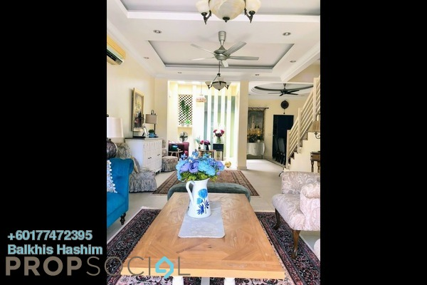 Superlink For Sale in Lagenda 1, Bukit Jelutong Freehold Semi Furnished 6R/6B 1.3m