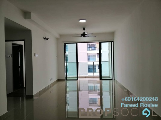 Apartment For Sale in Amerin Mall & Residence, Balakong Freehold Semi Furnished 2R/2B 390k