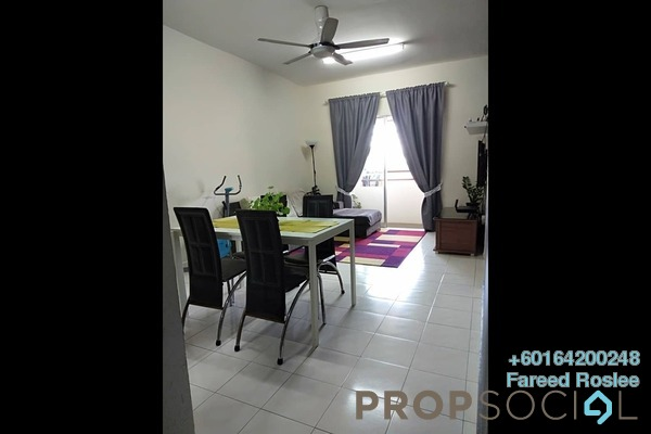 Apartment For Sale in Ukay Perdana, Ukay Freehold Semi Furnished 3R/2B 290k