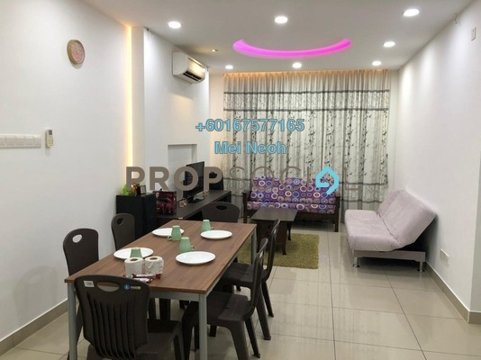 Serviced Residence For Sale in D'Ambience, Johor Bahru Freehold Fully Furnished 3R/2B 550k