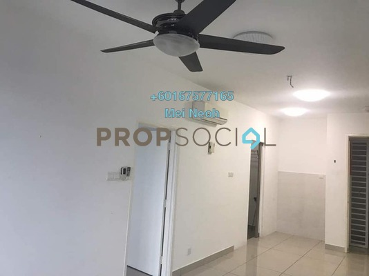 Serviced Residence For Sale in D'Ambience, Johor Bahru Freehold Semi Furnished 1R/1B 240k