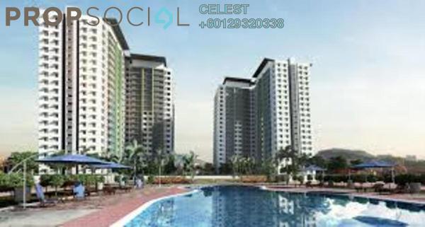 Condominium For Rent in De Centrum Unipark Condominium, Kajang Freehold Semi Furnished 4R/4B 1.8k