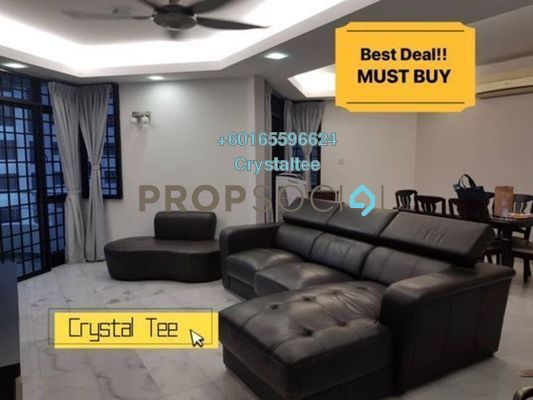 Condominium For Sale in Marina Tower, Tanjung Bungah Freehold Fully Furnished 3R/2B 800k