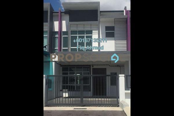 Terrace For Rent in Bandar Puncak Alam, Kuala Selangor Freehold Semi Furnished 4R/3B 1.2k