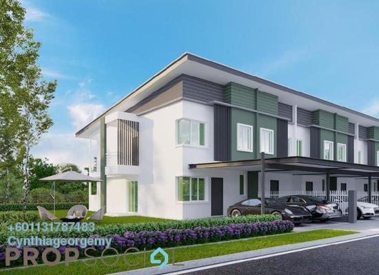 Terrace For Sale in Palm Beach Villas, Papar Freehold Unfurnished 4R/3B 360k