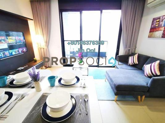 Serviced Residence For Sale in Arcoris, Mont Kiara Freehold Fully Furnished 1R/1B 750k