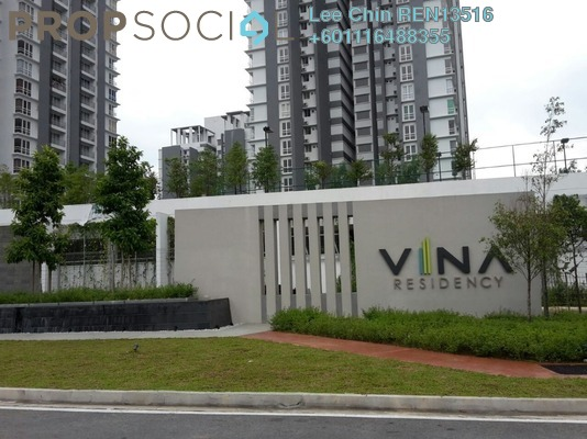 Condominium For Sale in Vina Versatile Homes, Cheras South Freehold Semi Furnished 3R/2B 458k