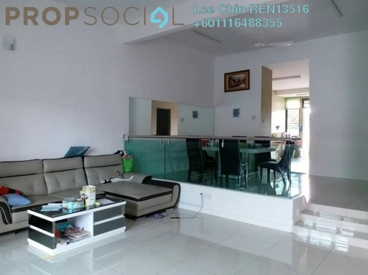 Terrace For Sale in Bandar Damai Perdana, Cheras South Freehold Semi Furnished 5R/4B 988k