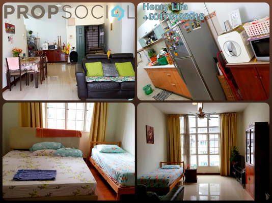 Condominium For Rent in Scott Sentral, Brickfields Freehold Fully Furnished 3R/2B 3k