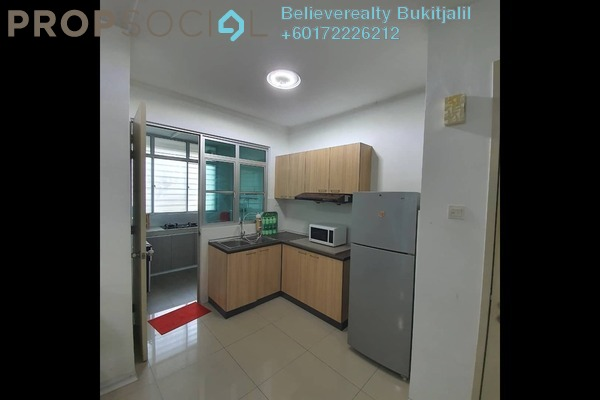 Condominium For Rent in Kiara Residence, Bukit Jalil Freehold Fully Furnished 3R/2B 1.6k